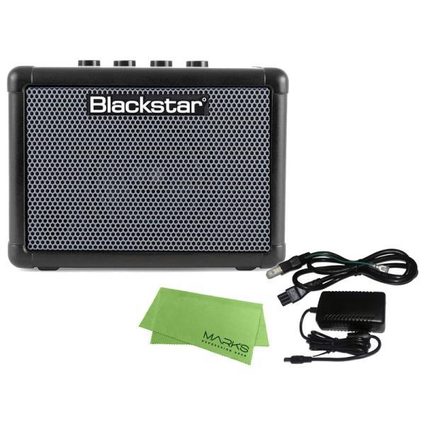 Blackstar FLY 3 BASS + 純正ACアダプター FLY-PSU + マークスミュージック オリジナルクロス セット ベースアンプ