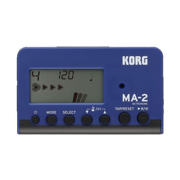KORG MA-2 ブルー&ブラック MA-2-BLBK メトロノーム <ゆうパケット利用>