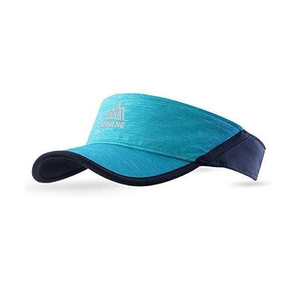 TRIWONDERサンバイザーランバイザーランニングウェア吸汗速乾抗菌防臭ジョギングサイクリングスポーツ用メンズレディー