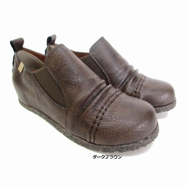 マスチェッタ MASCHIETTA 1015 レディース コンフォート サイドゴアシューズ  インヒール 仕事靴 通勤靴