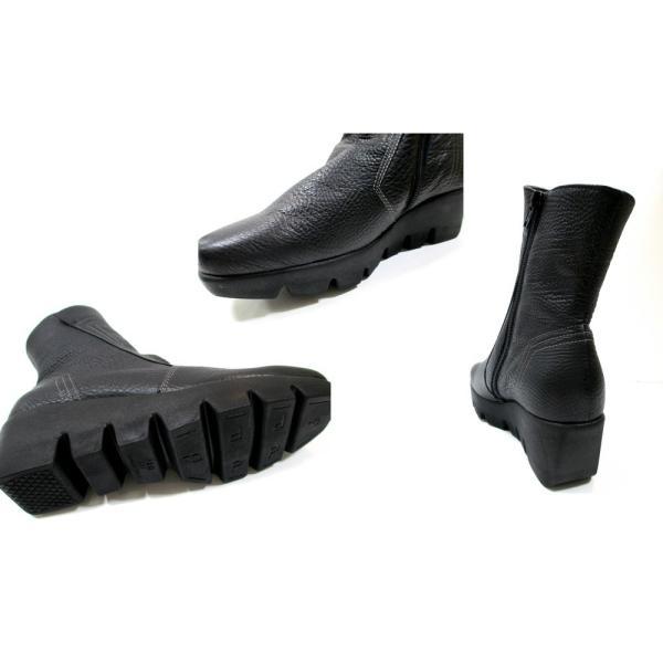 フィズリーン FIZZREEN fizzreen 5013 レディース 革ブーツ 外反母趾靴 ショートブーツ