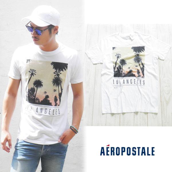 エアロポステール aeropostale エアロ ポステール  Tシャツ 半袖Tシャツ サーフブランド サーフ系 ブランド サーファー アメカジ ファッション ホワイト|maroon