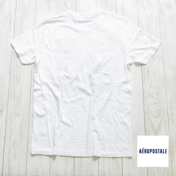 エアロポステール aeropostale エアロ ポステール  Tシャツ 半袖Tシャツ サーフブランド サーフ系 ブランド サーファー アメカジ ファッション ホワイト|maroon|04