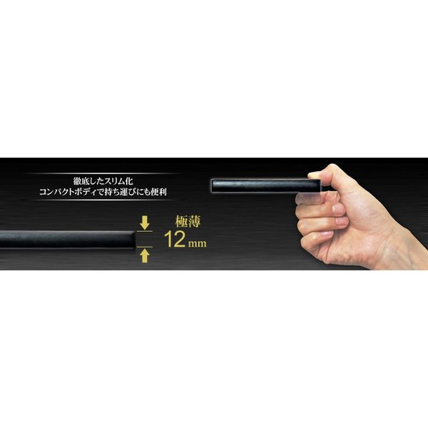 外付け HDD ハードディスク 1TB Windows10対応 TV録画 REGZA ポータブル ブラック アルミ|marshal|03