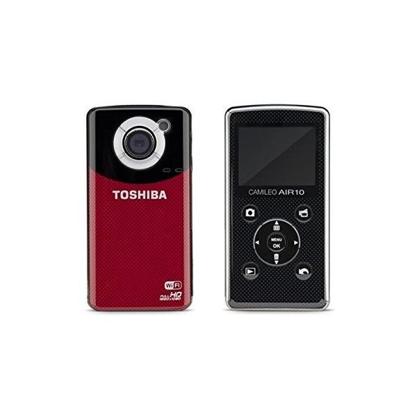 小型ビデオカメラ デジタルカメラ 4K 東芝 TOSHIBA 小型 Camileo Air10 PA3906U-1C1R SDカード4GB付き wi-fi HDMI フルHD コンパクト
