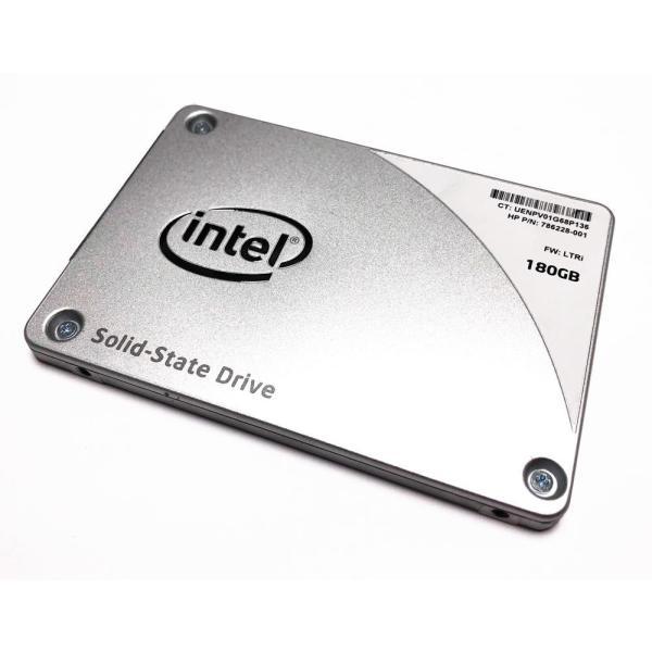 インテル SSD 中古 180GB MLC SATA 6Gb/s 2.5インチ SSD Pro 2500シリーズ SSDSC2BW180A5H|marshal