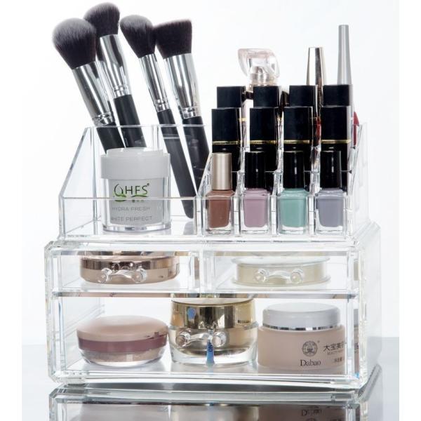 (4■3B) 化粧品収納ボックス クリアメイクボックス  mart-net 03