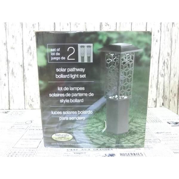 RoomClip商品情報 - (3■3B)Naturally 屋外用 ソーラーライト 2P/◆FO コストコ/Costco/ガーデン/ガーデニング/玄関/照明/インテリア/
