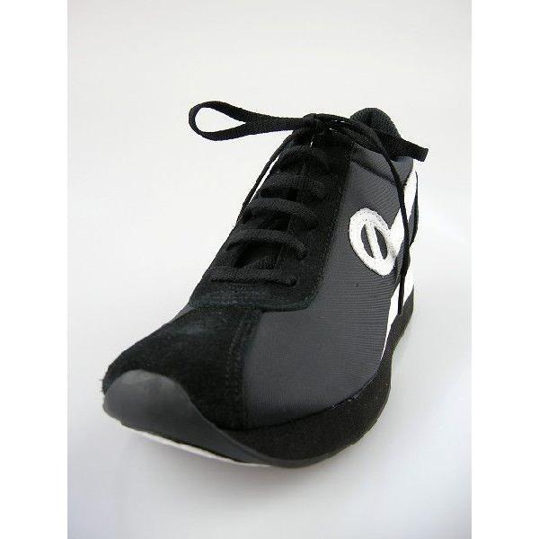 ノーネーム/NO NAME SPEED JOG ナイロン  ブラック/ホワイト 美脚スニーカー靴