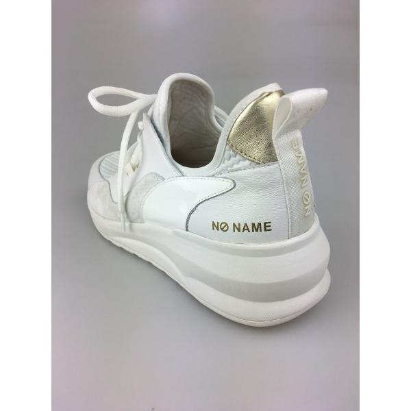 ノーネーム/NO NAME  SONO CURL ホワイト  美脚スニーカー 靴