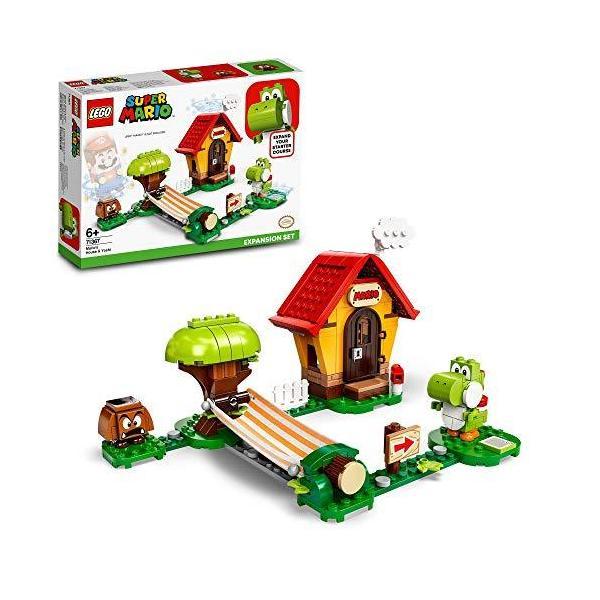 レゴ(LEGO)スーパーマリオヨッシーとマリオハウス71367