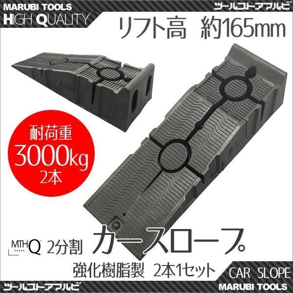 カースロープカーランプ樹脂製軽量2分割2台セット
