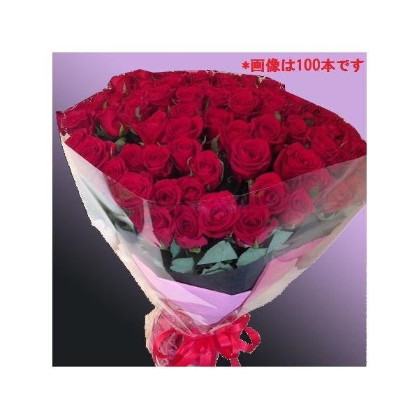大輪バラ60本の花束【送料無料】お祝・誕生日に贈るバラ花束・配達日指定可!生花花束 花 フラワー ギフト