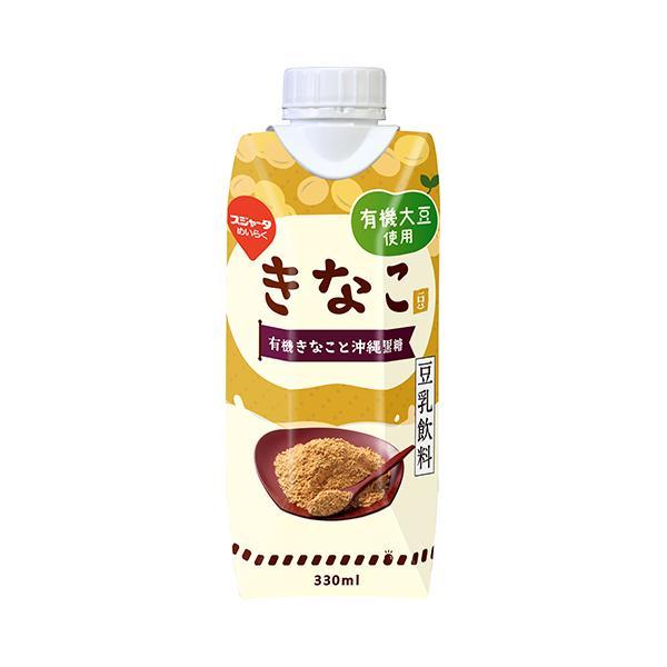 めいらく 有機大豆使用豆乳飲料 きなこ 330ml×12本 のし・包装不可 豆乳