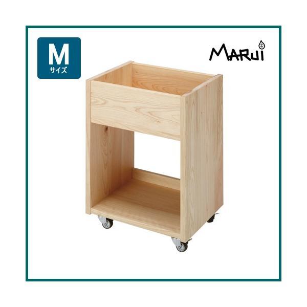 A4ファイル ひのきキャスターワゴン 国産ヒノキ無垢 自然オイル塗料 天然木製 書斎机用家具 学習机用ワゴン 日本製