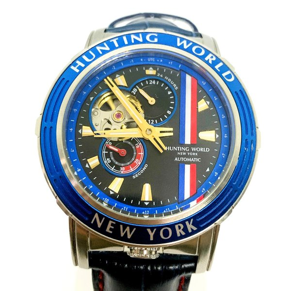 HUNTINGWORLDハンティングワールドHW993アディショナルタイム腕時計自動巻AT