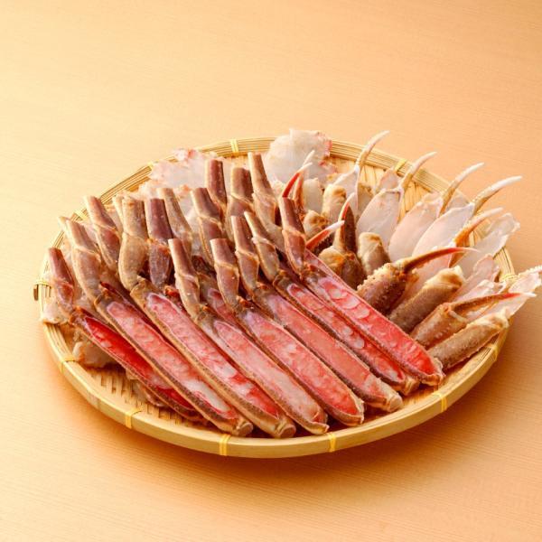 ズワイガニ カット生本ズワイ蟹 かに カニ 蟹 かに盛り1kg/総重量1.2kg[お歳暮/鍋/冷凍便/人気]|marukai|03