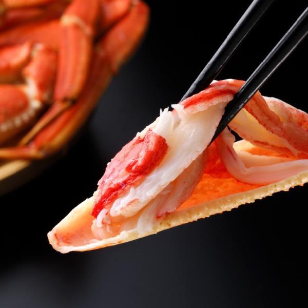 ズワイガニ カット生本ズワイ蟹 かに カニ 蟹 かに盛り1kg/総重量1.2kg[お歳暮/鍋/冷凍便/人気]|marukai|04