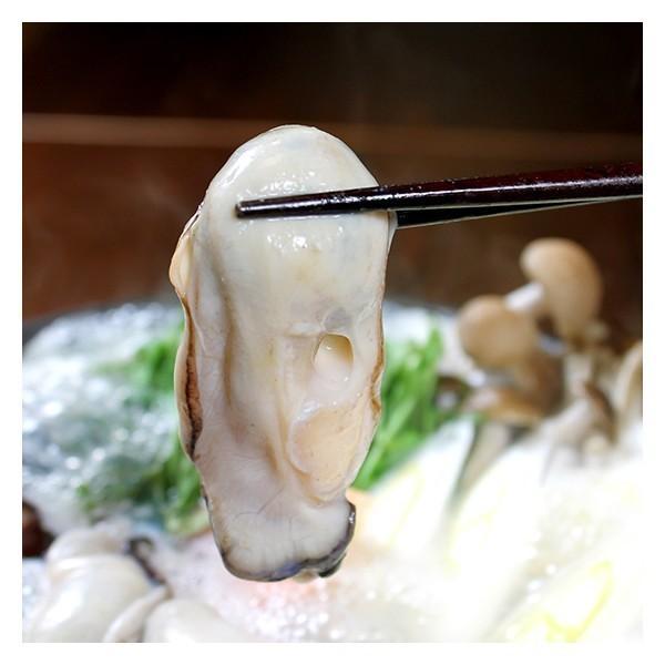 カキ牡蠣・金目鯛鍋セット(冷凍)3人前送料無料カラーレシピ付〔真空〕刺身用金目鯛を三枚おろしにしてウロコを取り、頭・中骨・腹骨も真空パックでかきは特大|marukatsu-onjuku11|05
