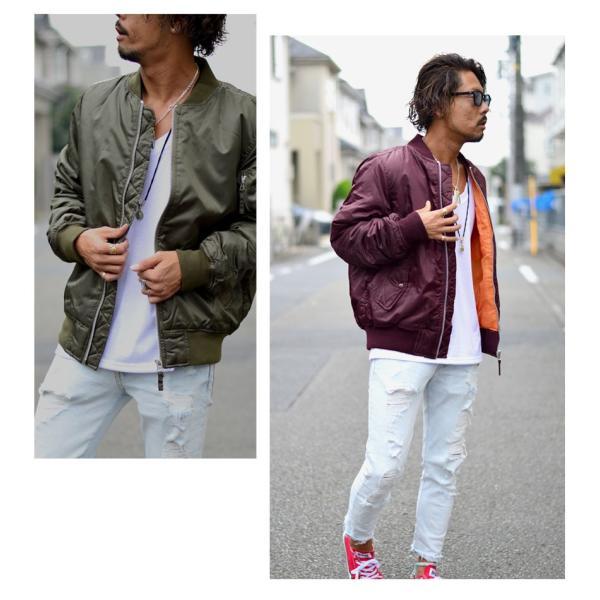 MA1/ジャケット/MA1/メンズ/ブランド/ブルゾン/ジャンパー/MA-1|marukawa7|02