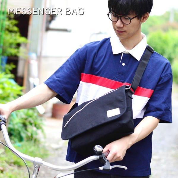メッセンジャーバッグ メンズ ショルダーバッグ スウェットメッセンジャー スウェット素材 斜めがけ|marukawa7|06