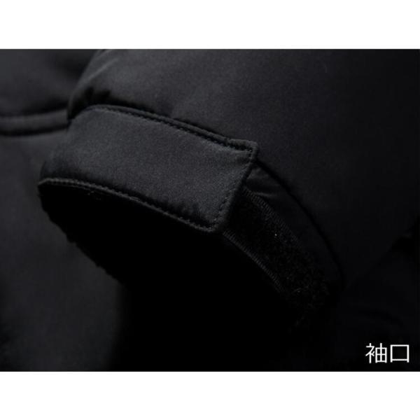 ダウンジャケット メンズ ジャケット 防風 防寒 防水 保温 厚手 フード付 ジャンパー 秋 冬 冬服 冬物 防寒着 メンズファッション 男性 通勤|marukinsyouten|16