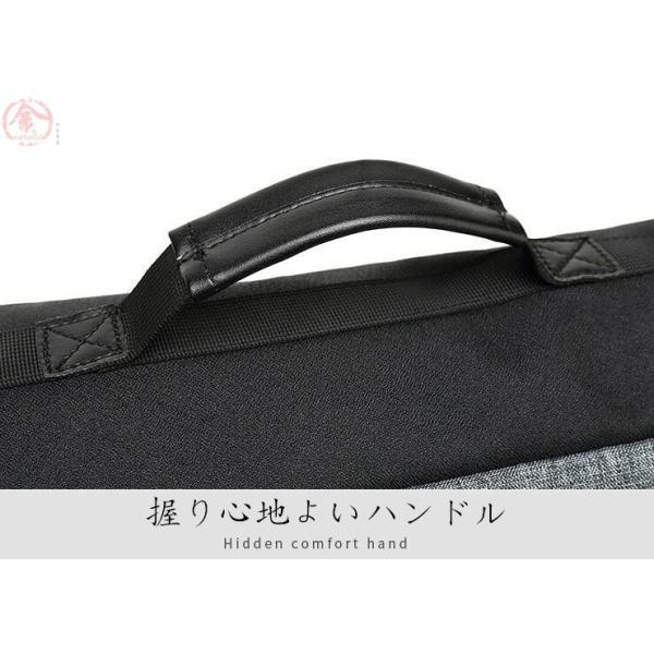 リュックサック メンズ バッグ 4way 収納力抜群 防水 通気 大容量 上品 かばん 人間工学設計 ディパック 通勤 出張 旅行 プレゼント|marukinsyouten|11