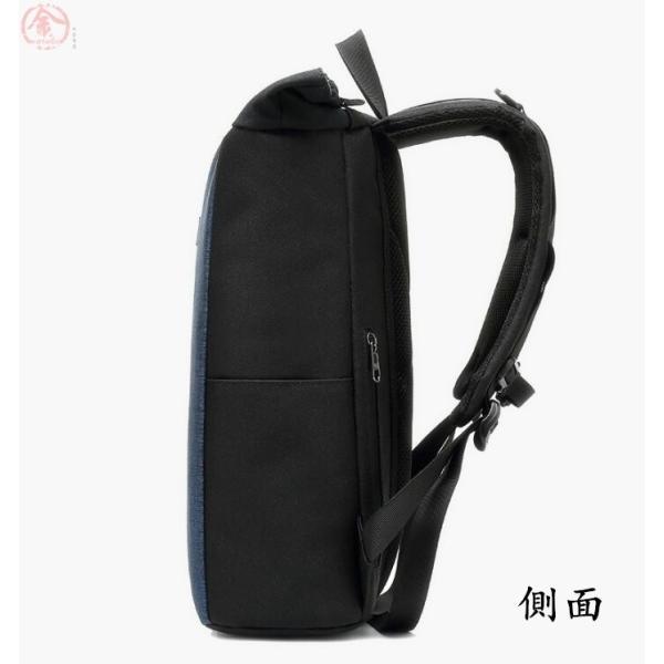 リュックサック メンズ バッグ 4way 収納力抜群 防水 通気 大容量 上品 かばん 人間工学設計 ディパック 通勤 出張 旅行 プレゼント|marukinsyouten|17