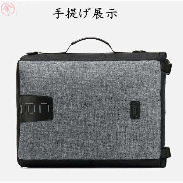 リュックサック メンズ バッグ 4way 収納力抜群 防水 通気 大容量 上品 かばん 人間工学設計 ディパック 通勤 出張 旅行 プレゼント|marukinsyouten|19