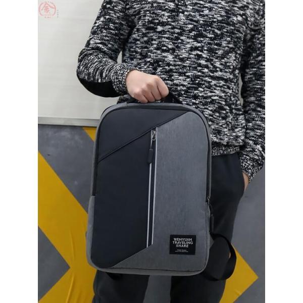メンズ リュック ビジネスバッグ ビジネス バッグ 大容量 リュックサック 通勤 通学 おしゃれ 防水 旅行 出張 かばん PC収納 USB充電|marukinsyouten|20