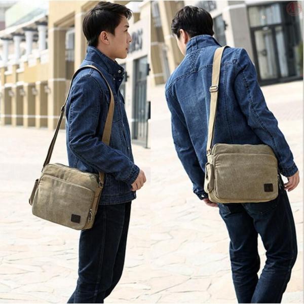ショルダーバッグ メンズバッグ 斜めがけ 水洗い かばん バッグ 多機能 大容量 通勤 ビジネスバッグ 旅行 ショルダー シンプル 男女兼用 プレゼント|marukinsyouten|19