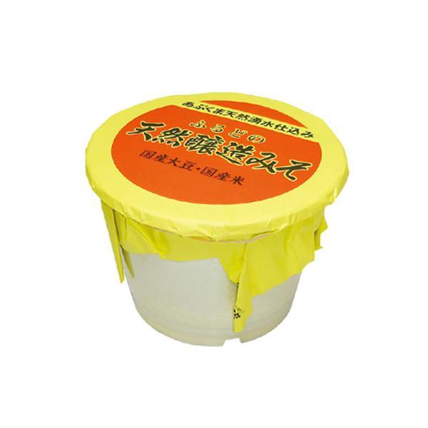 【クーポン使用で20%OFF】調味料 味噌 米味噌 米みそ 麹 大豆 ふるどの 天然醸造 みそ 10kgポリ樽詰 ふくしまプライド。 marumanjouzou