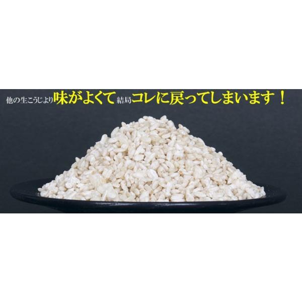こうじ 米麹 1kg 国産米 生麹|marumanjouzou|02
