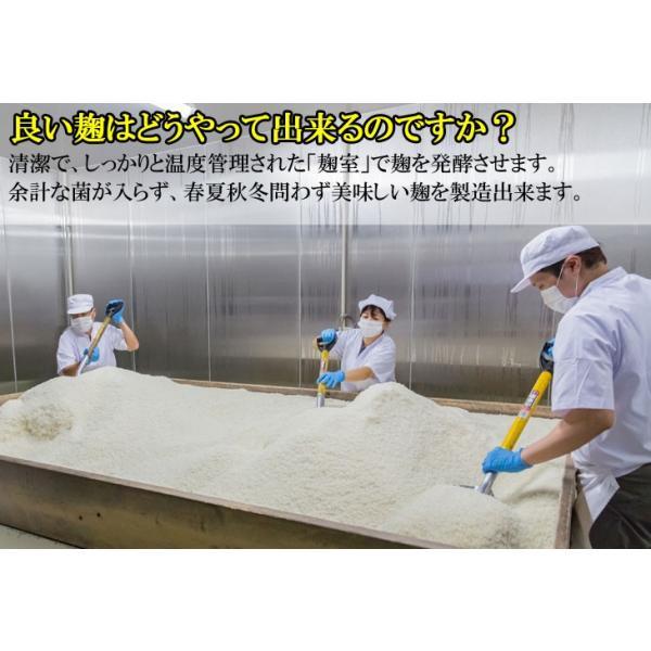 こうじ 米麹 1kg 国産米 生麹|marumanjouzou|03