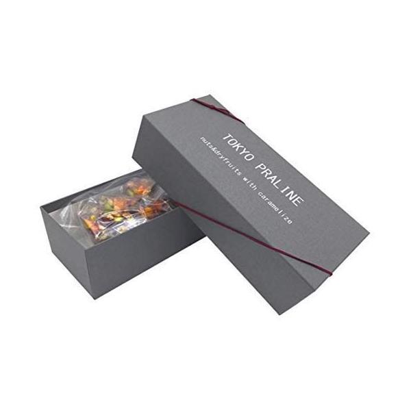アーモンドとピスタチオを贅沢に使用してキャラメリゼした TOKYO PRALINE (キャラメル アーモンド プラリネ) 25個入  内祝い,進物に最適  篠原製菓
