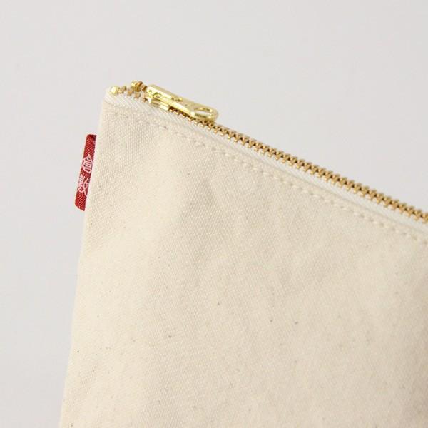 メール便可 倉敷帆布 基帆ポーチ 舟型(小) 45803253416-FM レディース バッグ 鞄 かばん カバン 日本製 国産 くらしきはんぷ 7007208