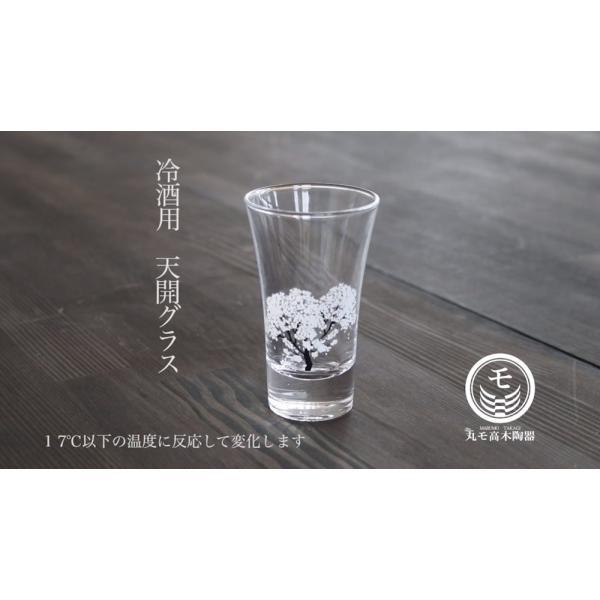 冷感桜 グラス天開ペアセット お酒をより楽しむためのおしゃれな酒器!|marumotakagi