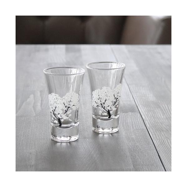 冷感桜 グラス天開ペアセット お酒をより楽しむためのおしゃれな酒器!|marumotakagi|03