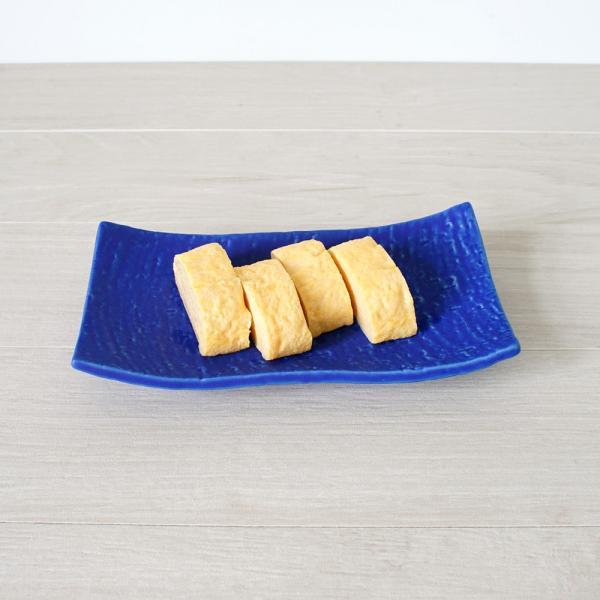 角皿 和食器 20cm浜付焼物皿 珊瑚礁シリーズ marumotakagi 02