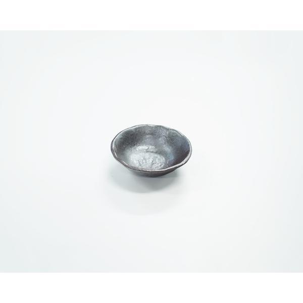 珍味入れ 薬味皿 12cm小鉢 黒銀彩シリーズ|marumotakagi