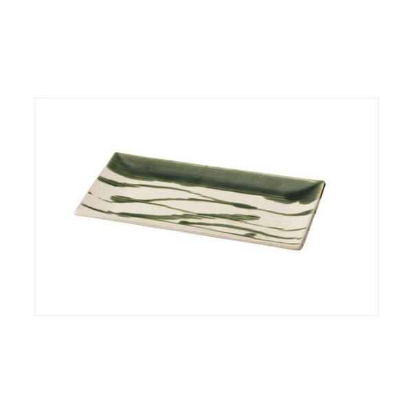 角皿 和食器 大皿 29.5X15レリーフ長角皿 乱織部シリーズ|marumotakagi