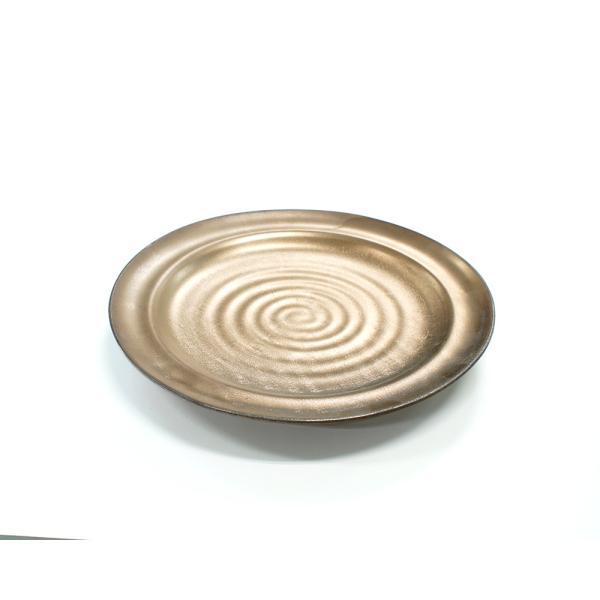 大皿 プレート渦 30cmリム付丸皿 祝福シリーズ|marumotakagi