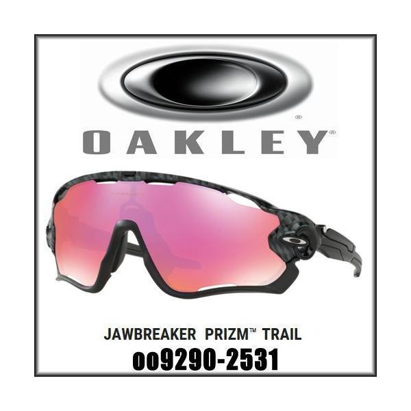 0599e56f38d OAKLEY オークリー Jawbreaker プリズム トレイル ジョウブレイカー Prizm Trail CARBON FIBER OO9290- 2531 サングラス 保証書