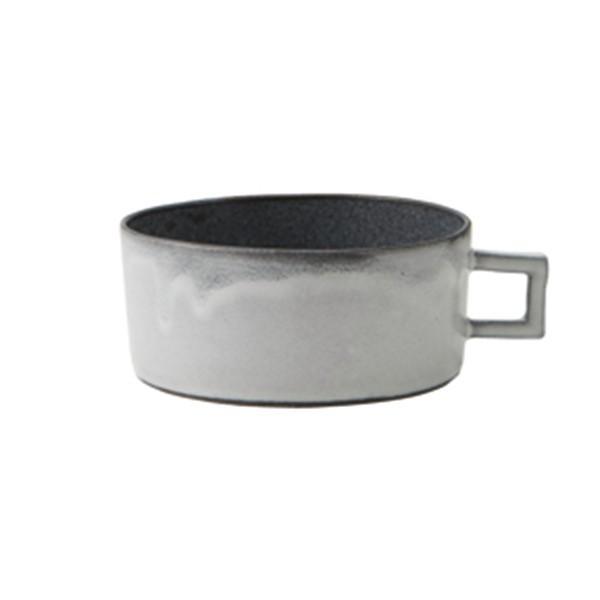 日本製 RIKIZO Beignet ベニェ スープカップ ホワイト|maruri-tamaki