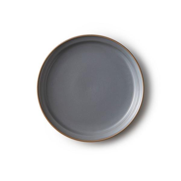 Edge Line エッジライン プレートMグレー 北欧 洋食器 陶器 シンプル モダン お洒落 ギフト プレゼント|maruri-tamaki