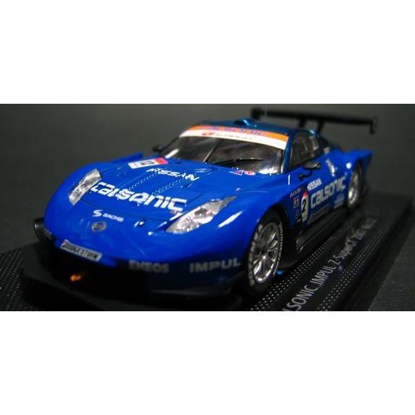 エブロ 1/43 カルソニック インパル Z スーパーGT GT500クラス No.12 2007