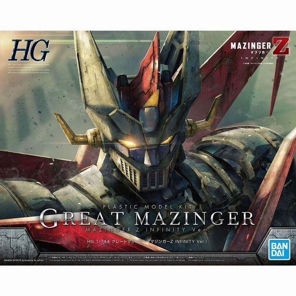 HGグレートマジンガー(マジンガーZINFINITYVer.)1/144スケール色分け済みプラモデル
