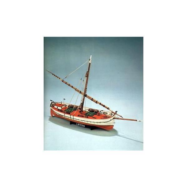 マモリ1:MV29 1/32 ラウド (地中海の旧式貨物船) 【木製帆船組立キット】