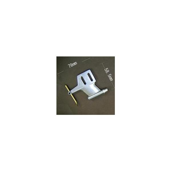 TRK製 ハイドロワイヤーブラケット21用 (ダイカスト製) 【R/Cスピードボート用ブラケット】