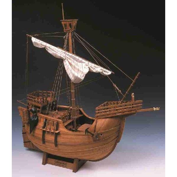 1/30カタロニア船 ウッディージョー木製帆船組立キット